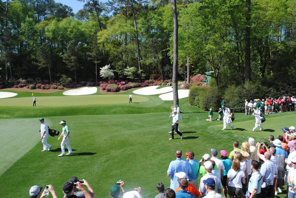 Augusta.  Masters.