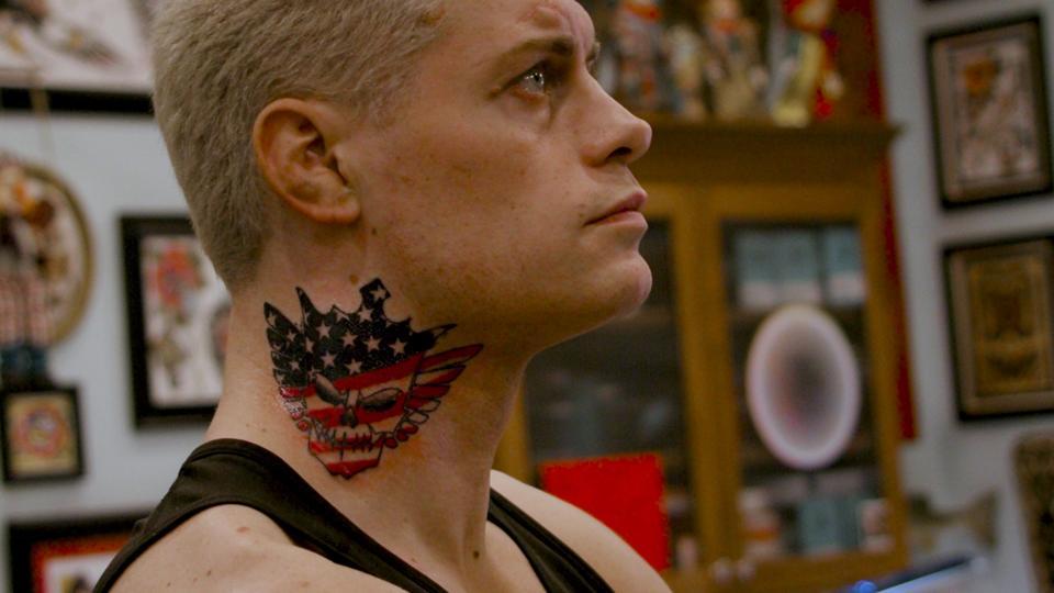 Cody Neck Tattoo All Elite Wrestling WWE NXT American Nightmare