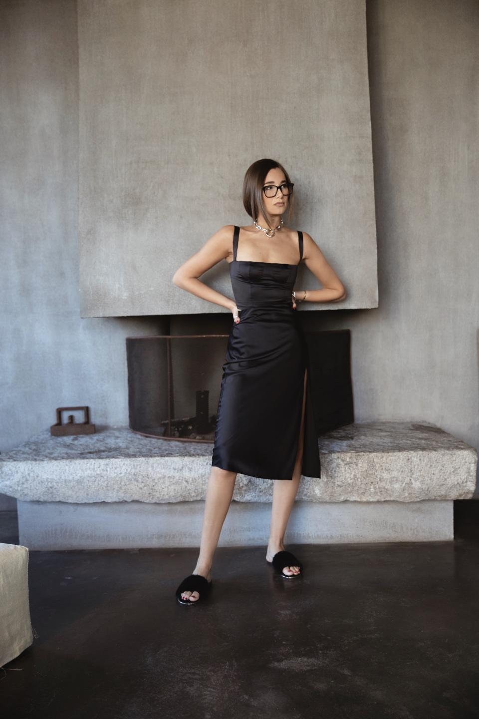 WeWoreWhat's Danielle Bernstein in her new collection for Macy's.
