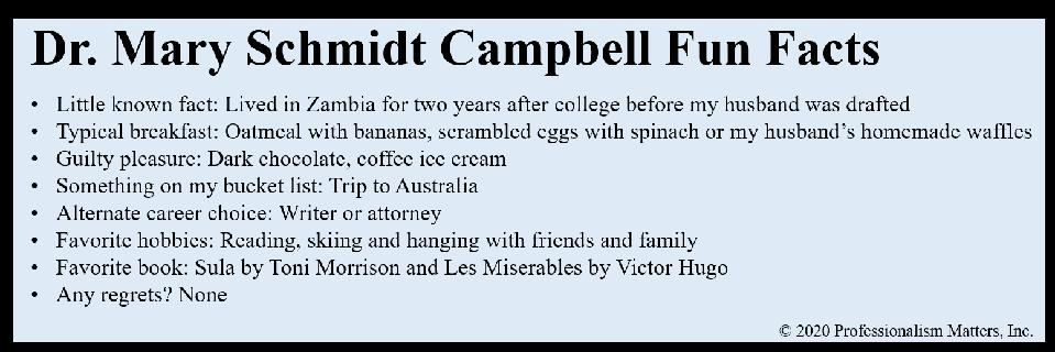 Campbell Fun Facts