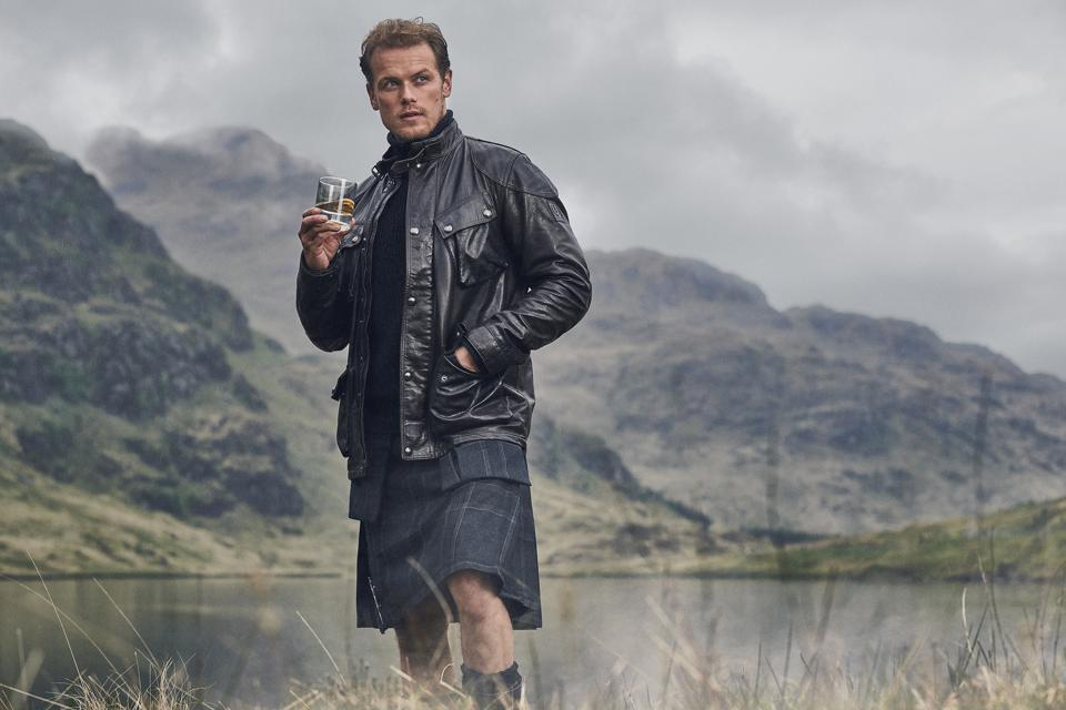The Sassenach was created by actor Sam Heughan.