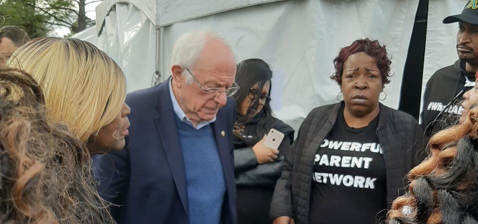 Sarah Carpenter, Bernie Sanders, Powerful Parent Network
