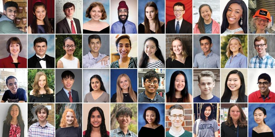 40 finalists in Regeneron Science Competition will compete for top 10 spots in March 10 awards ceremony