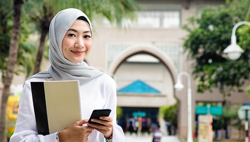 Malaysian Woman With Hijab