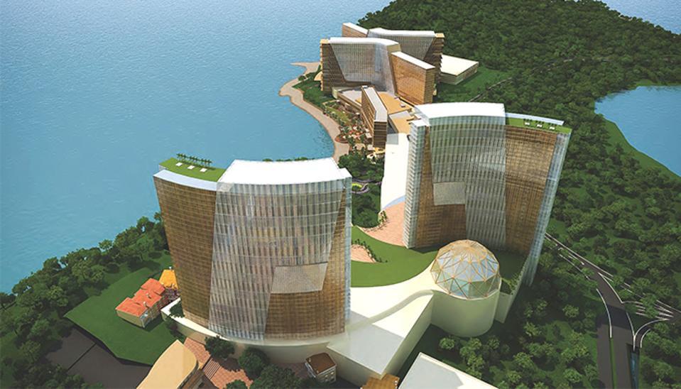 Artist rendering of NagaWorld Vladivostok In Russia