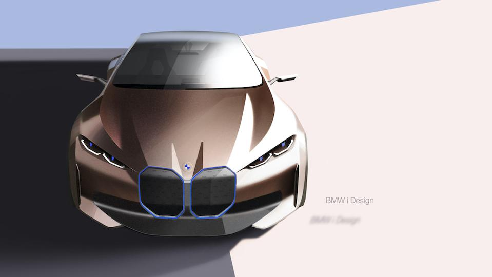 BMW Concept i4 reveals digitally at the 2020 Geneva Motor Show