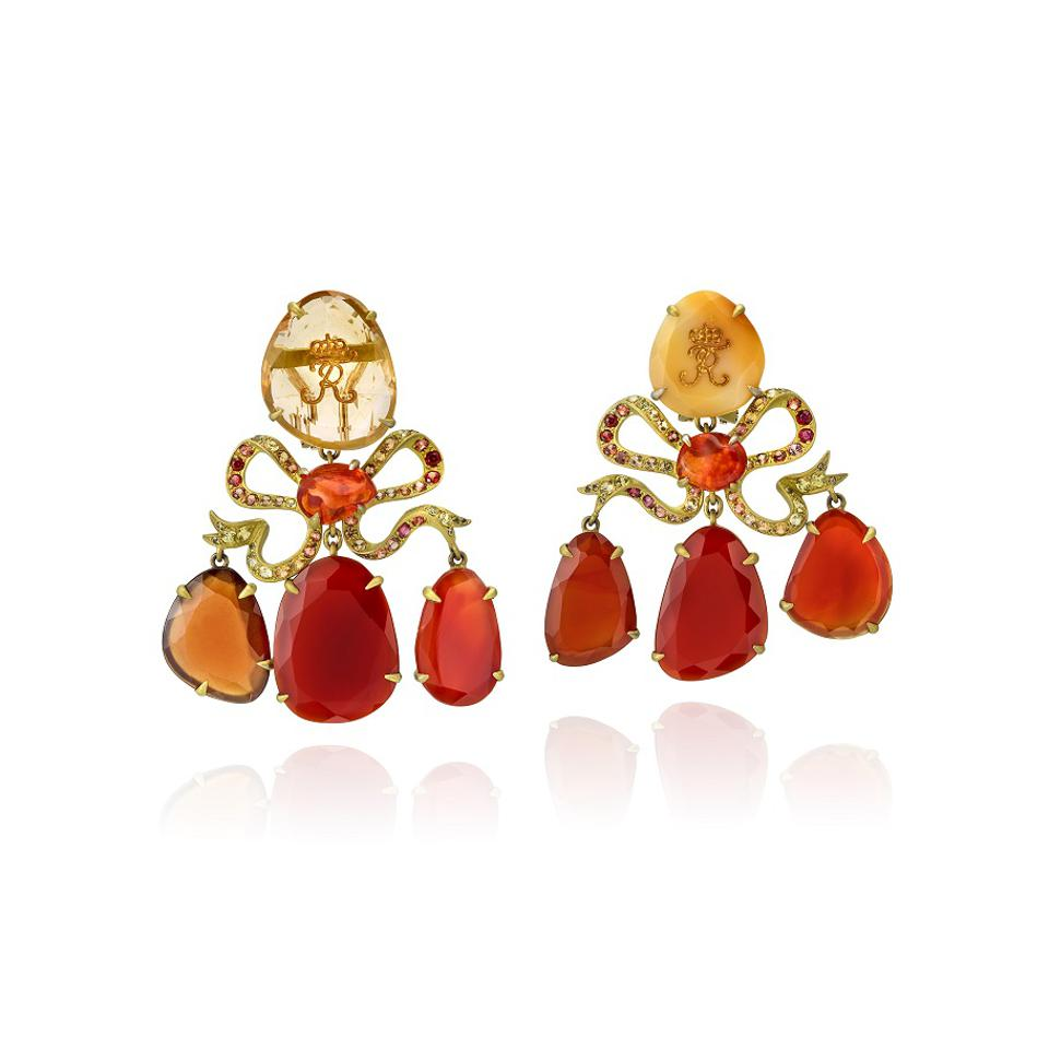 Lydia Courteille's Amber Room jewelry collection
