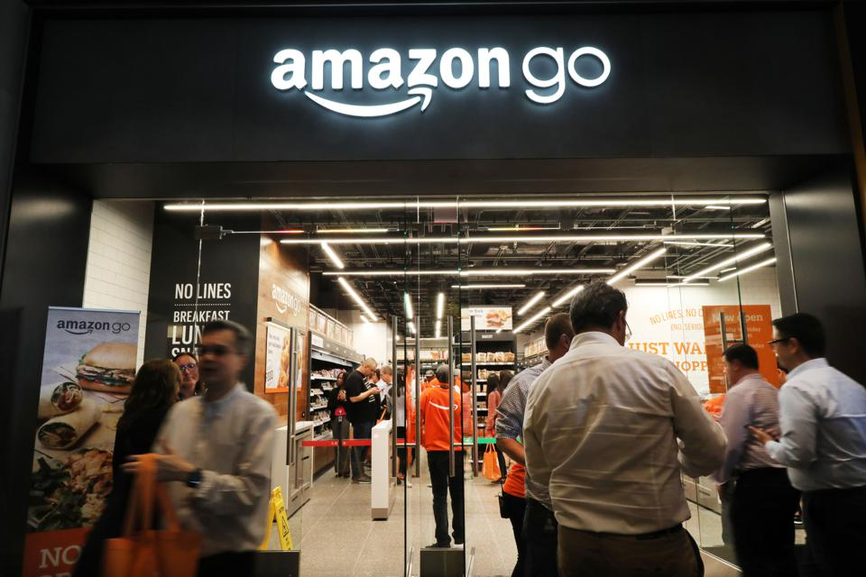 Amazon Opens First Go Store To Accept Cash