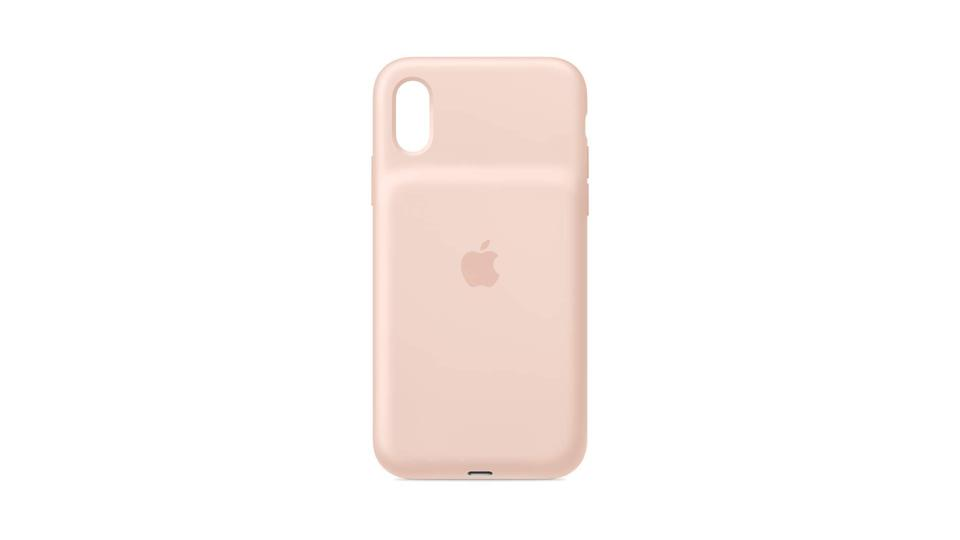 iPhone Xs Smart Battery Case - Pink Sand