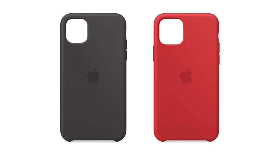 iPhone 11 Black and iPhone 11 Pro (Product) Red (silicone)