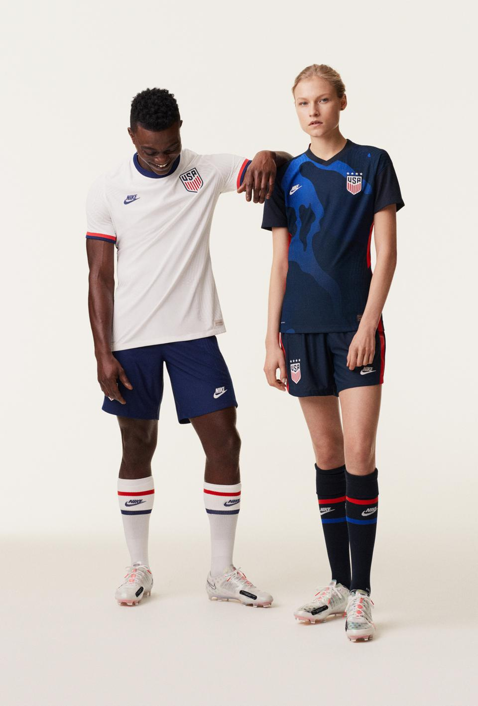 The Nike USA soccer uniforms for the 2020 Olympics