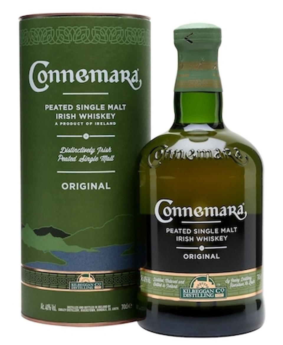 Best Irish Whiskeys_Connemara Peated Single Malt Irish Whiskey