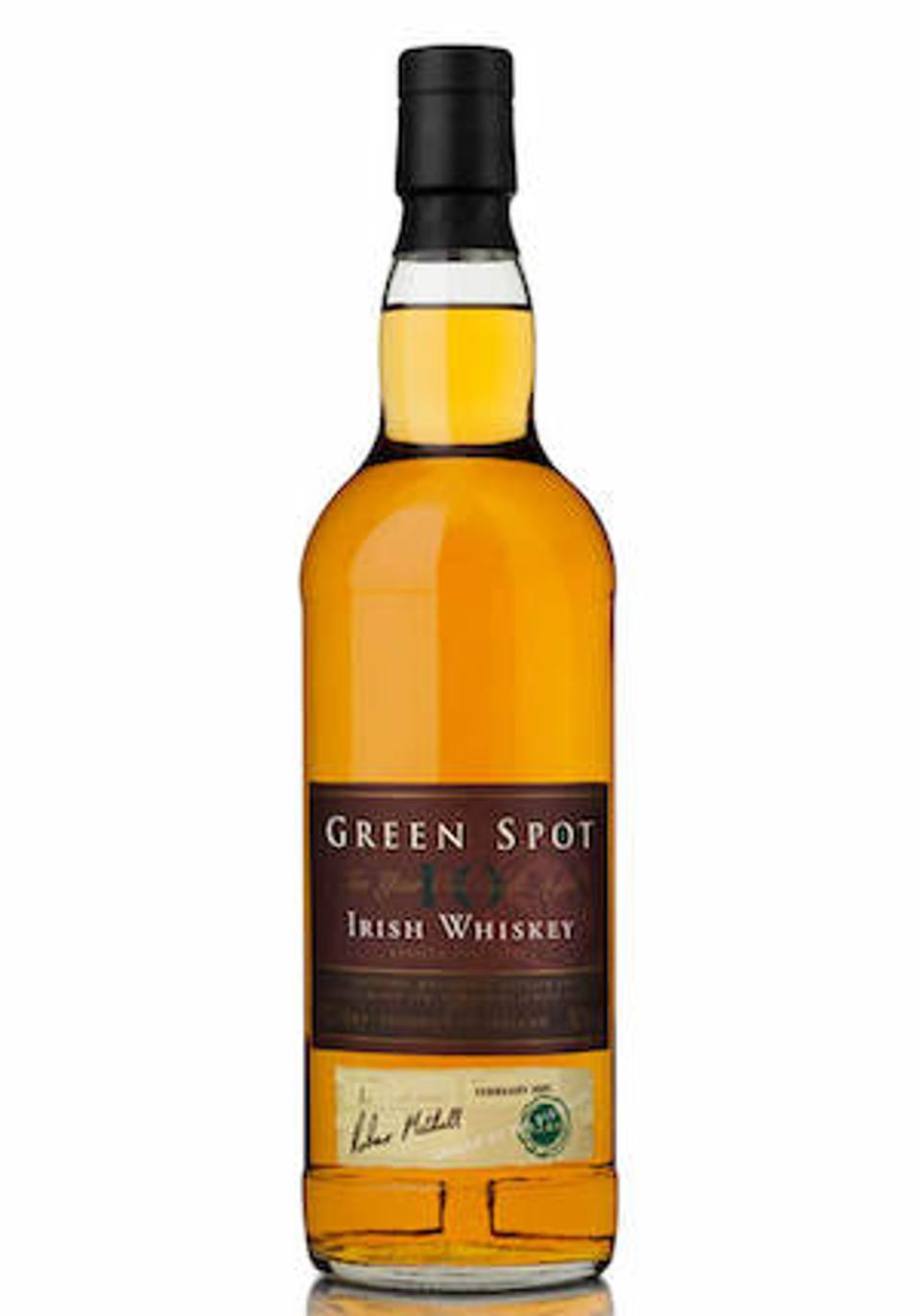 Best Irish Whiskeys_Green Spot 10 Year Irish Whiskey