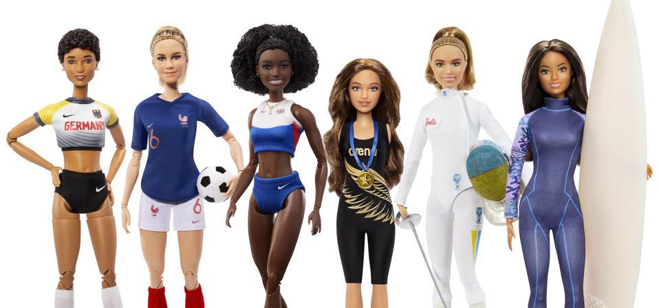 Different Barbie Models