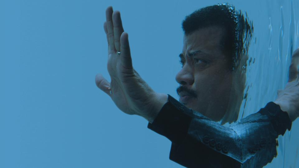 Neil deGrasse Tyson enters The Palace of Life