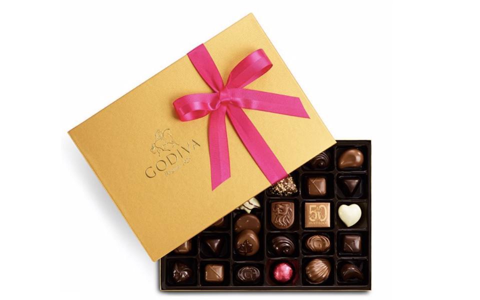 Godiva Chocolates Assorted Gold Ballotin Gift Box