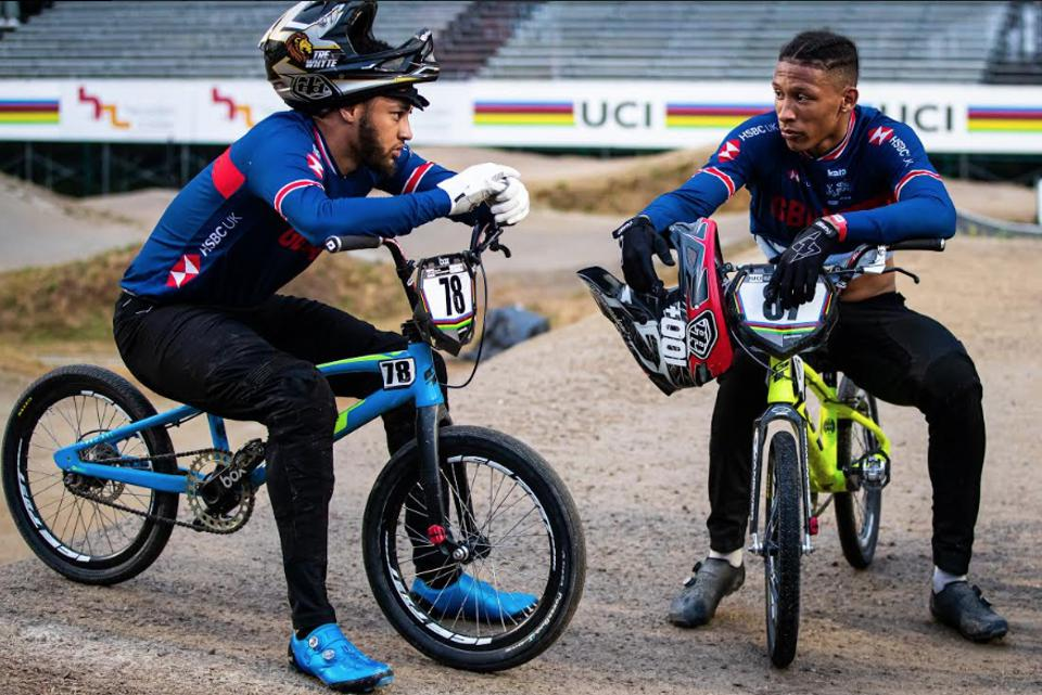 Tre and Kye Whyte, Team GB Olympic hopefuls in BMX.