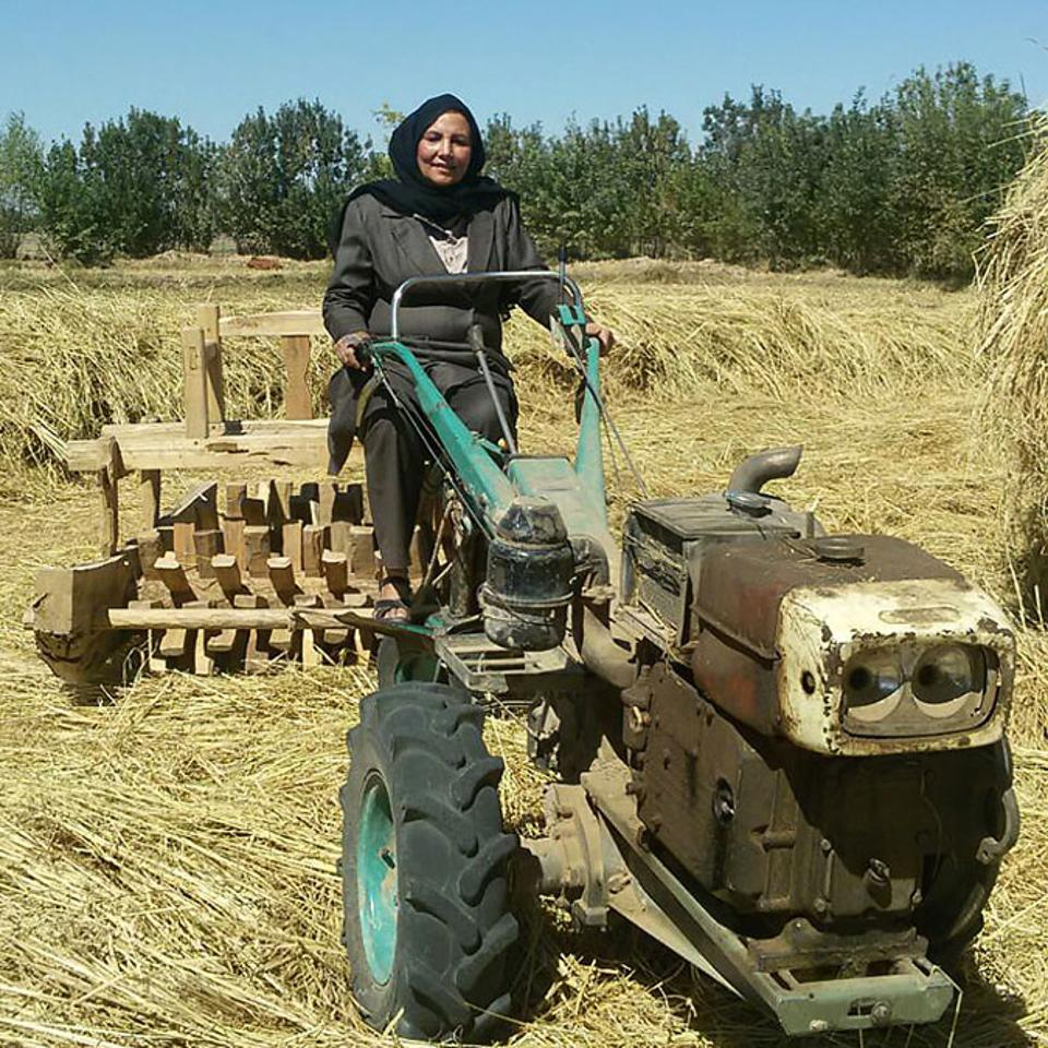 Atefe Mansoori, trailblazing mother of Moslem Shah