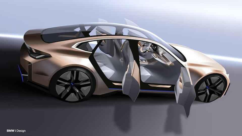 2020 Geneva Motor Show Bmw S New Electric Car Concept I4