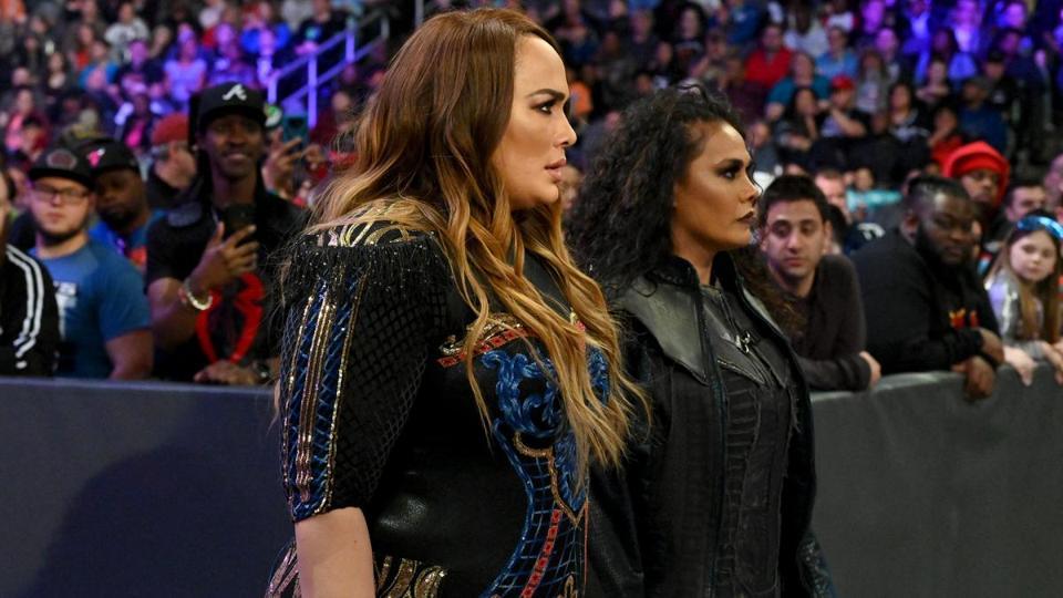 WWE Raw: Nia Jax and Tamina make their entrance