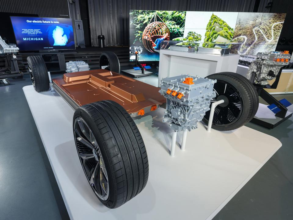 General Motors Ultium electric drive systems
