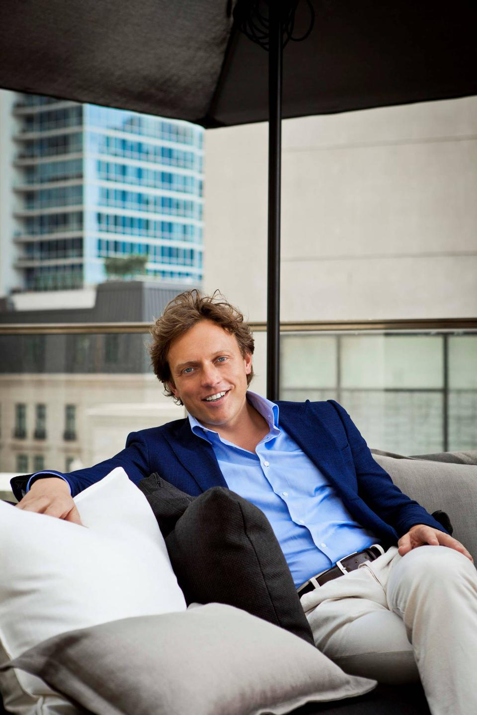 Image of Fokke de Jong, CEO and founder SuitSupply