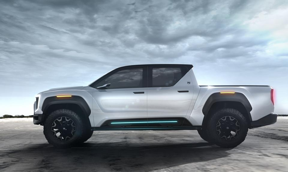 Nikola's hydrogen fuel-cell Badger pickup will be built by an unnamed automaker.