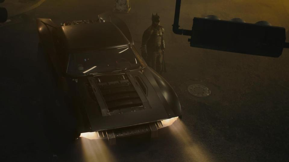 Batmobile 'The Batman' Reveal