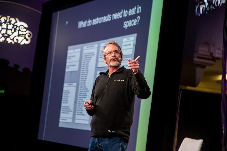 At SynBioBeta, Adam Arkin discusses what astronauts need to eat in space.
