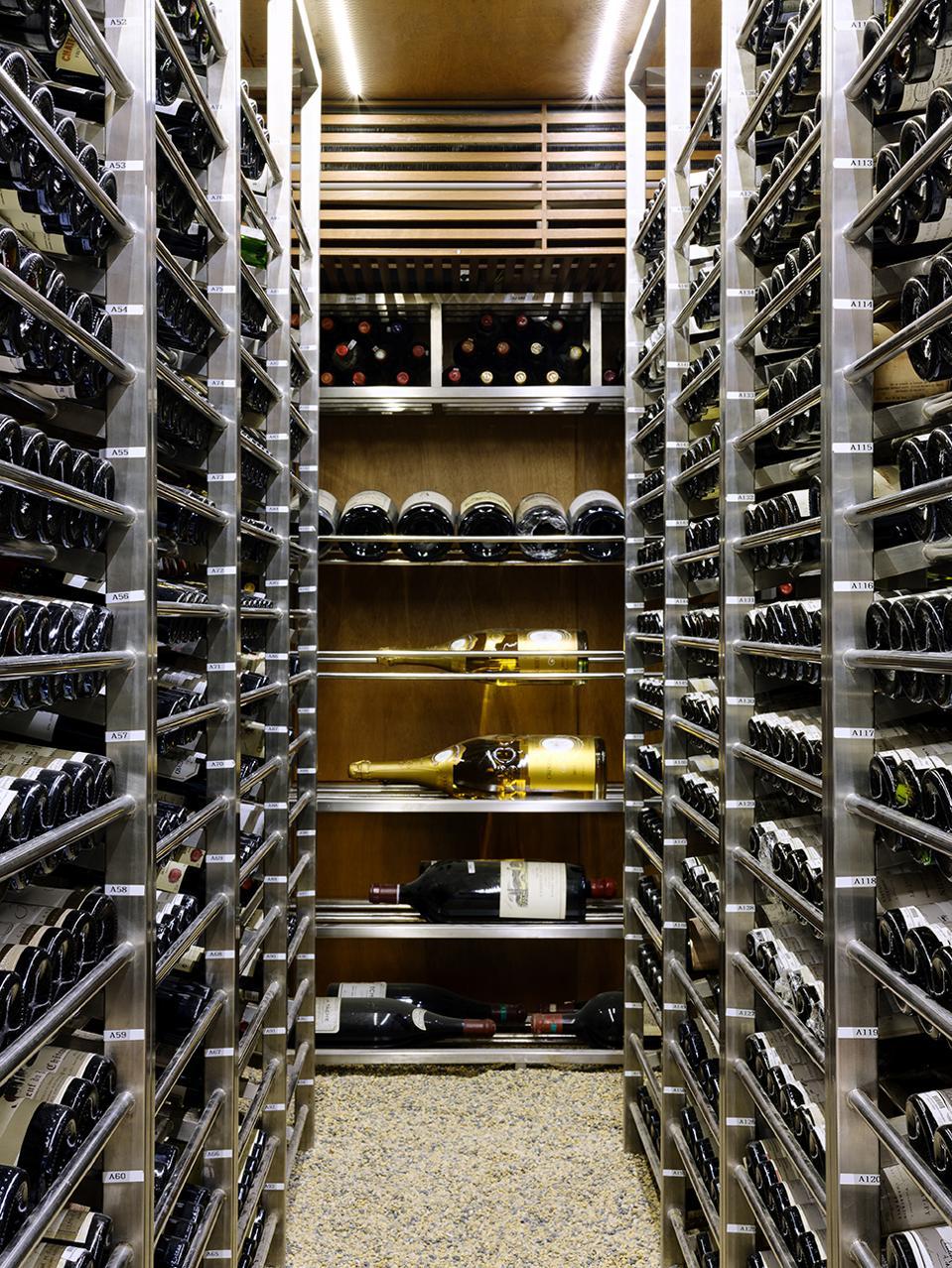 Les Amis' Wine Cellar