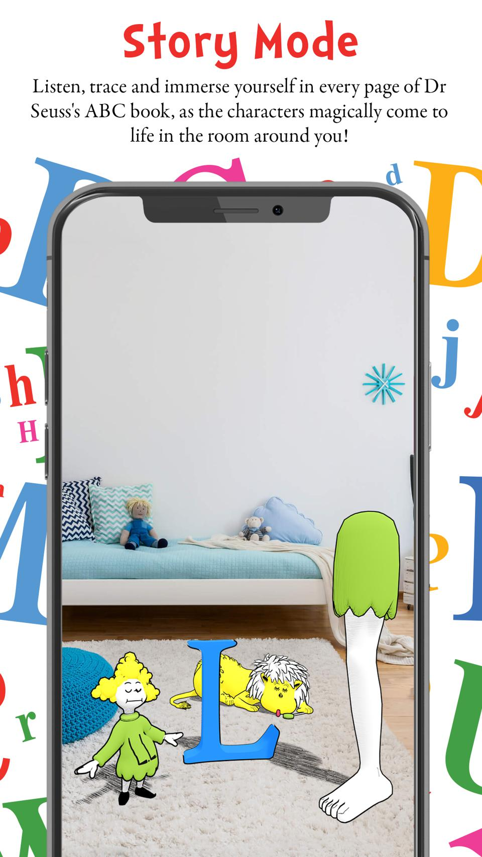 Dr. Seuss Enterprises and Sugar Creative joined forces to create the AR app