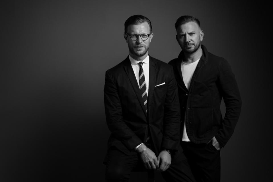Nick Saunders and Jonathan Long
