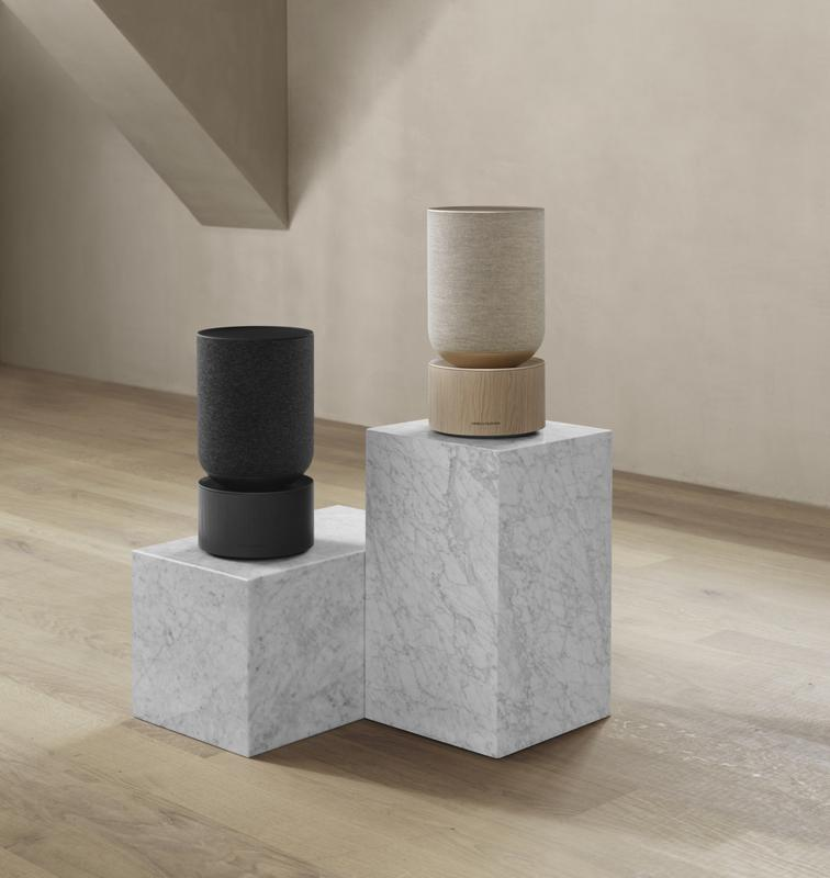 Two Beosound Balance speakers