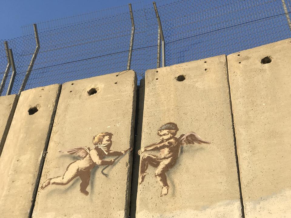Banksy wall Bethlehem