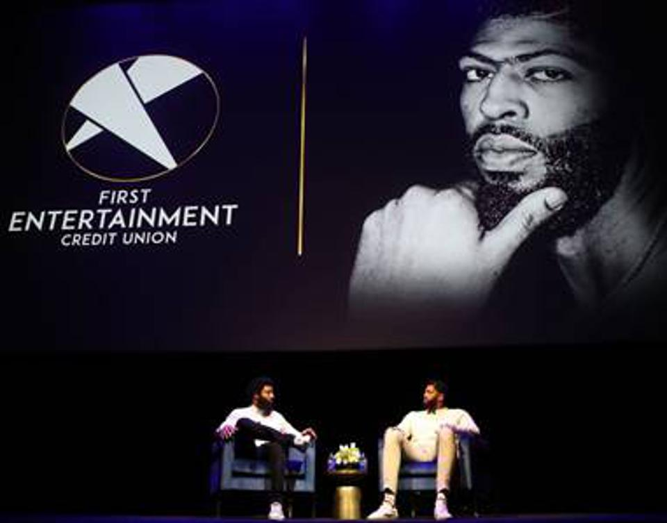 Anthony Davis links up with local Los Angeles credit union to promote financial literacy.