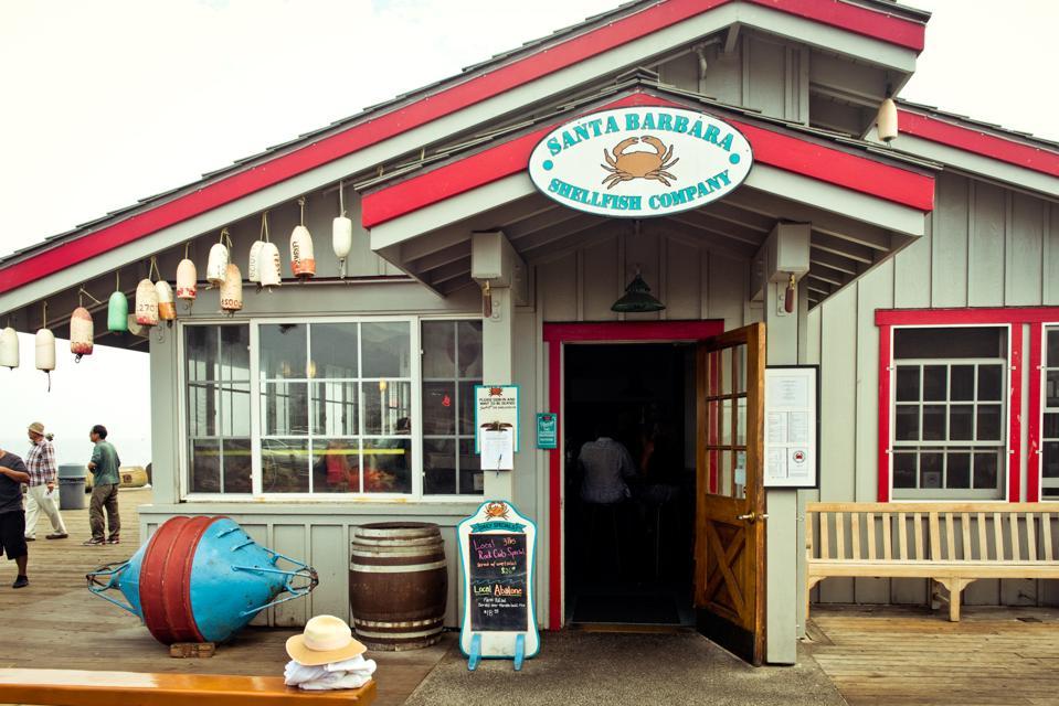 A Julia Child favorite for seafood, Santa Barbara Shellfish Co.