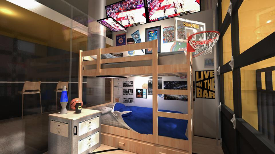 Buffalo Wild Wings bed and breakfast March Madness