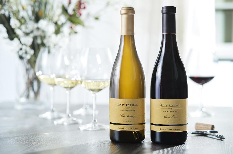 2017 Gary Farrell Winery Russian River Chardonnay and Pinot Noir