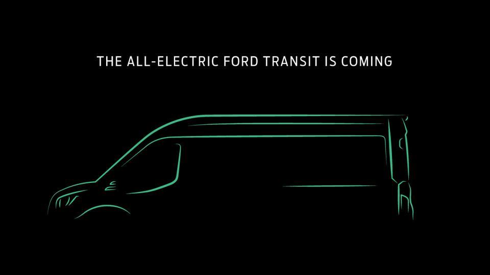 Ford Transit Electric Deliver Vans