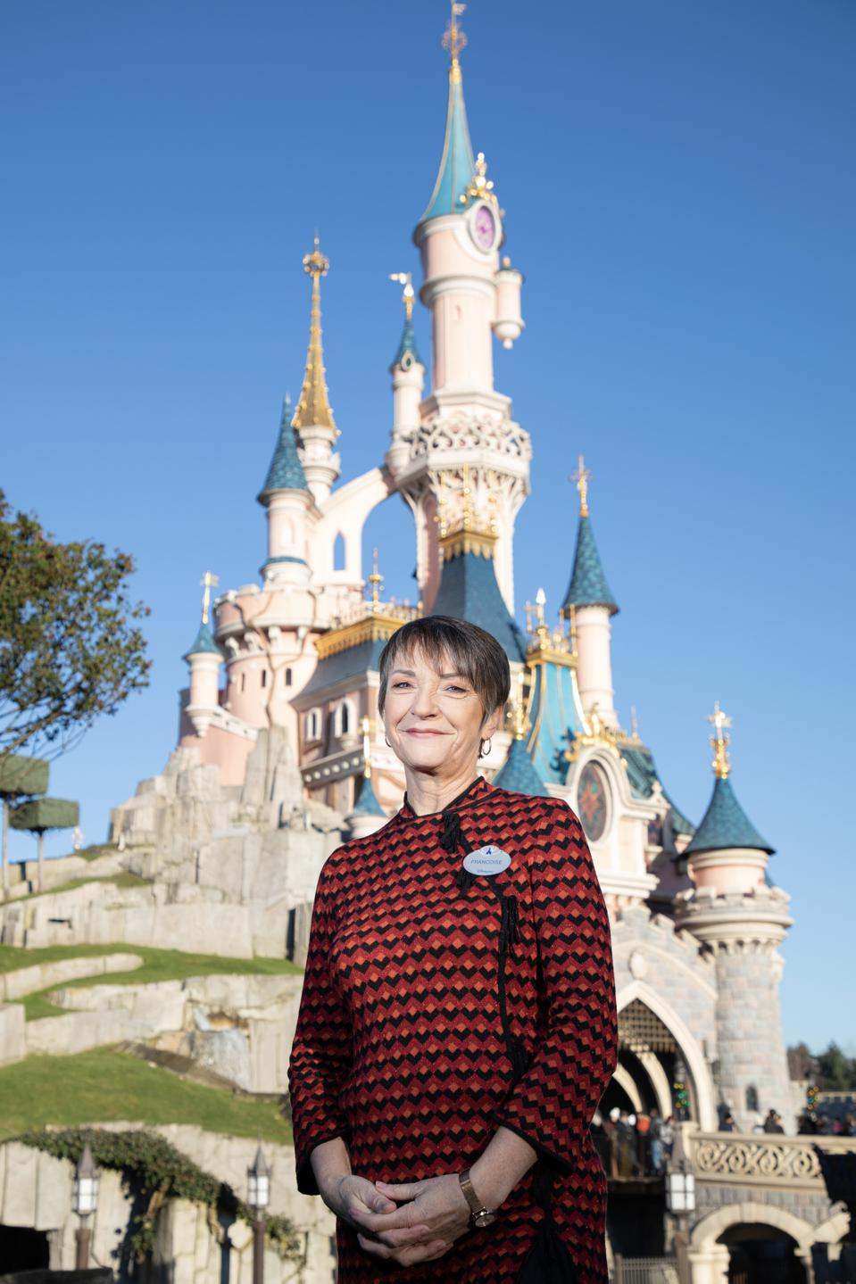 Françoise Barbier has a magic touch on the costumes at Disneyland Paris