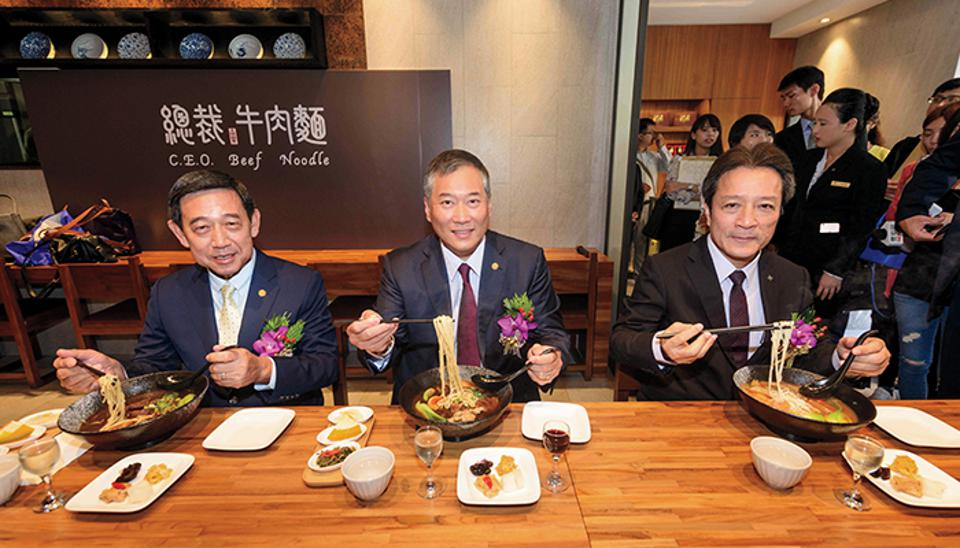 In 2016, he opened C.E.O Beef Noodle with John Huang, CEO of Yellowstone Holding, selling the Koo-family favourite.