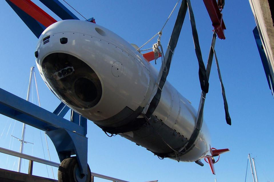 MSubs S201 crewed submersible