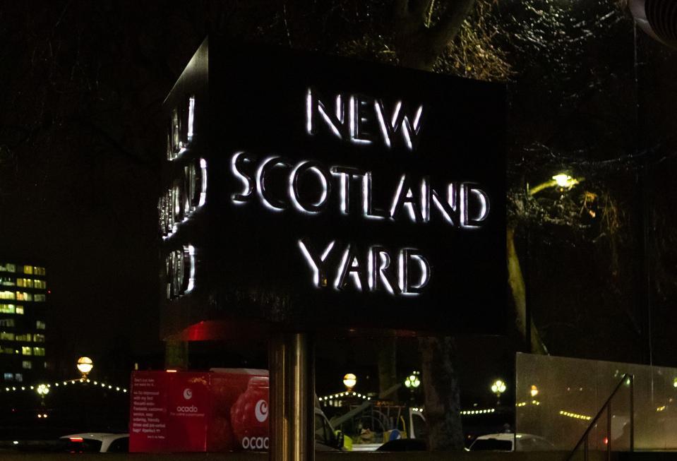 Logo for new Scotland Yard