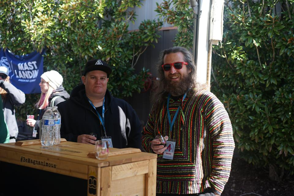 Charlie Meers, co-founder and president of Magnanimous Brewing