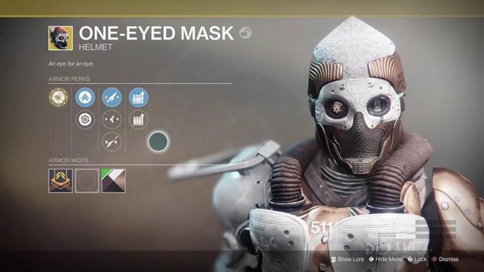 One Eyed Mask