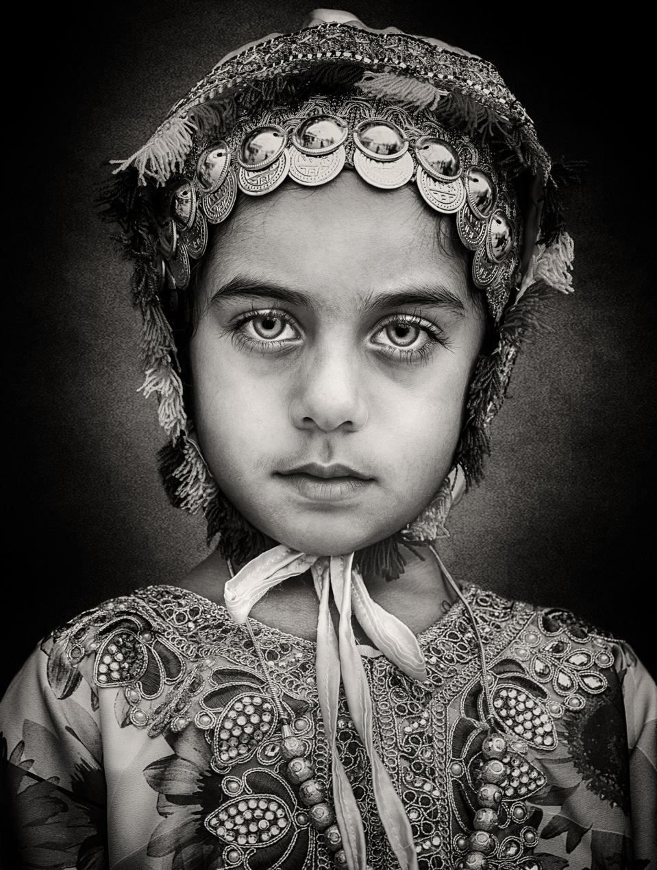 Young girl from Oman