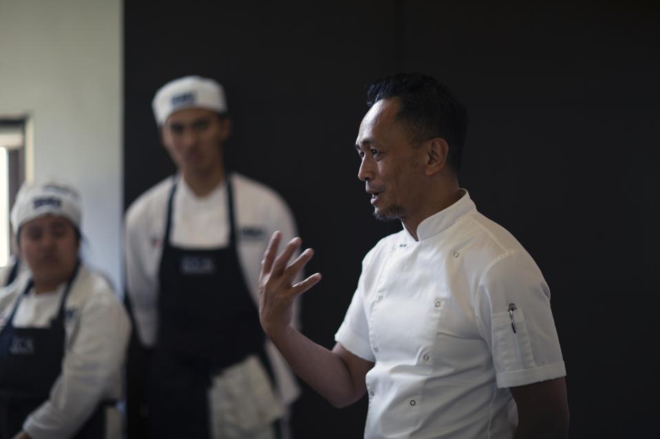 Filipino Chef Sau del Rosario in Manila.