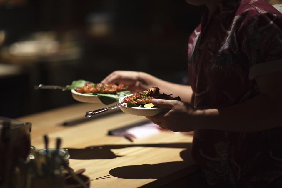 Kaum restaurant Bali.