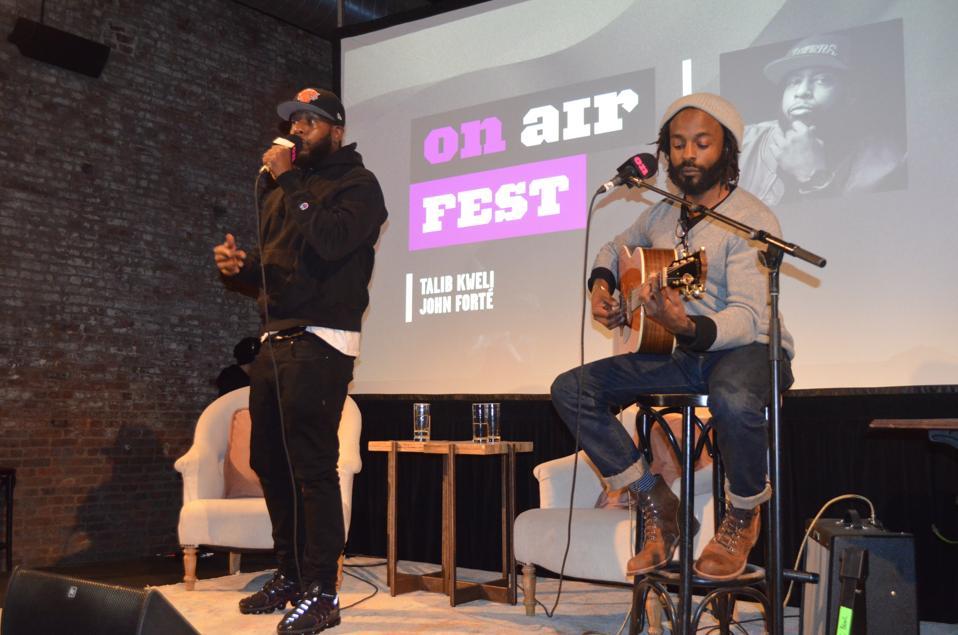 Talib Kweli and John Forte