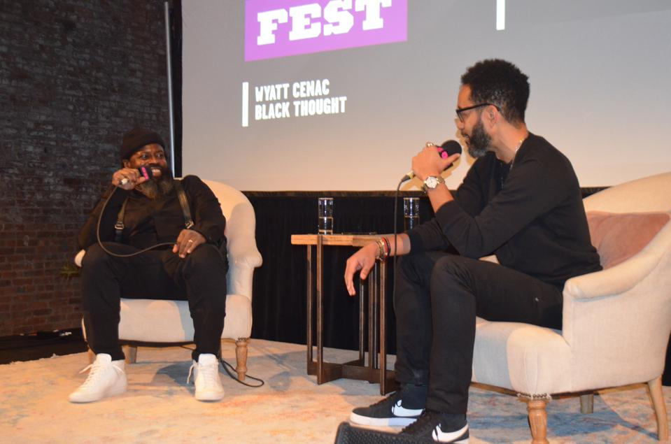 Wyatt Cenac in conversation with Black Thought